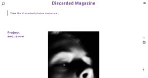 Discared magazine Pierre Rahier Namur